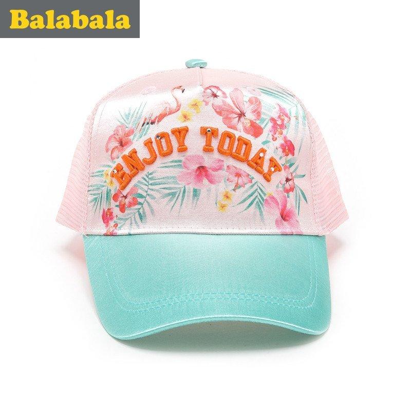 巴拉巴拉女童帽子儿童可爱时尚帽童帽2016夏季新款童装儿童鸭舌帽