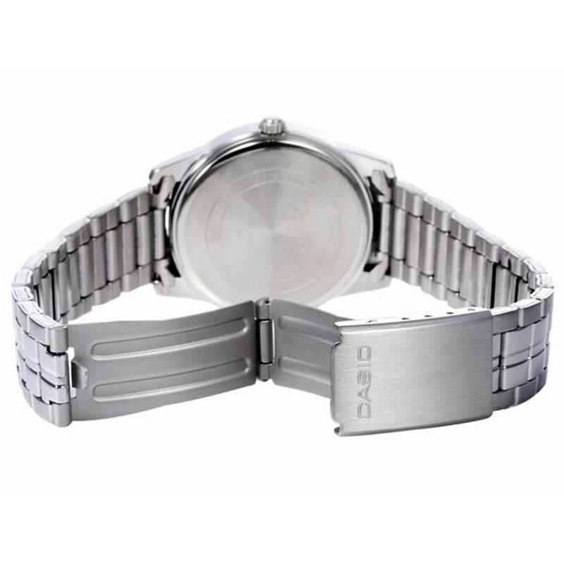 卡西欧(casio)圆形不锈钢50米防水小巧女士石英手表ltp-1315d-2b