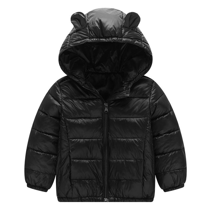 冬季新品2017儿童耳朵款可爱棉服男女童宝宝中小童棉衣外套韩版
