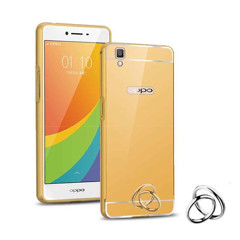 oppor7s手机壳 oppo r7s手机保护套r7s金属边框外壳后盖潮 男女款