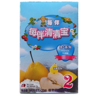 每伴清清寶優+系列冰糖雪梨味2段160克