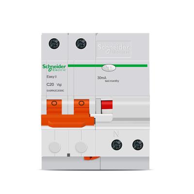 帮客材配 施耐德漏保品牌(新能源汽车专用) 断路器E9系列 2P 40A带漏电保护 1只装