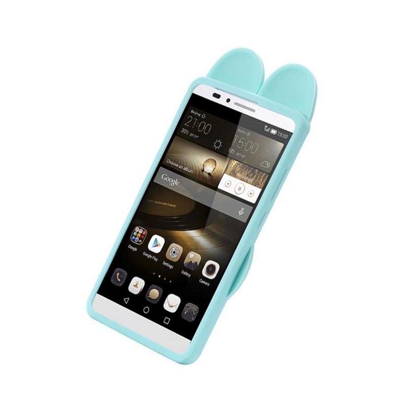 mate7 手机壳 mate8手机壳可爱卡通朱迪兔子硅胶防摔手机壳 适用于
