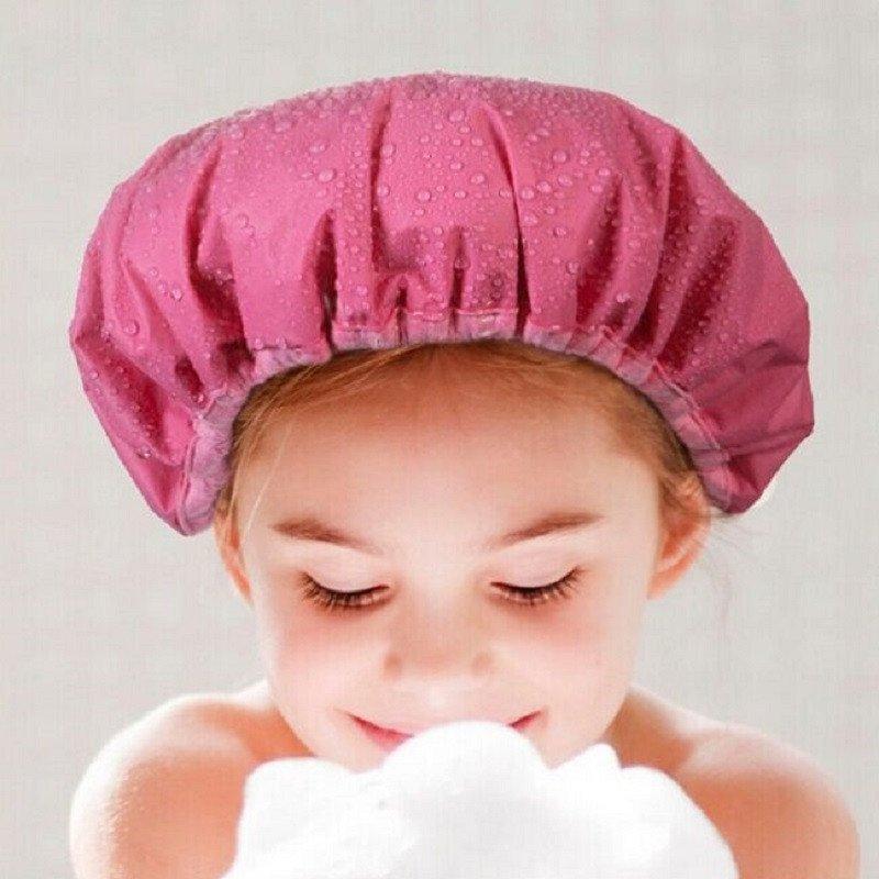 浴帽的戴法步骤图片 图片合集