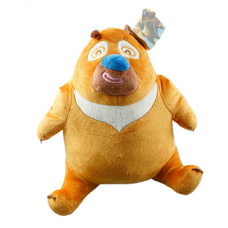 boonie bears/熊出没 q版 熊大熊二坐姿 12寸30厘米毛绒公仔 可爱礼物