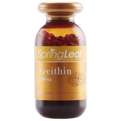 澳洲直郵SpringLeaf(springleaf)綠芙大豆卵磷脂膠囊 1200毫克/粒 200粒瓶裝 大豆異黃酮