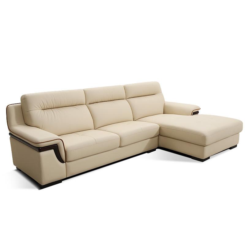 顾家家居 欧式真皮沙发头层皮艺沙发大小户型现代dk.1005