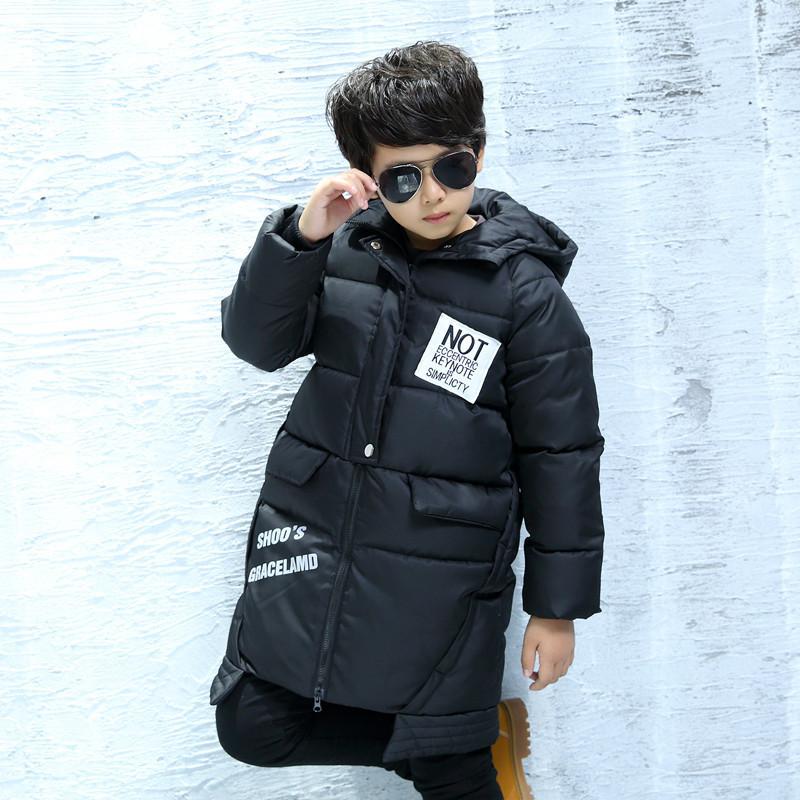 爱永平儿童雪地2016新款8-16岁中大棉衣韩版初中男童冬装防风帽图片