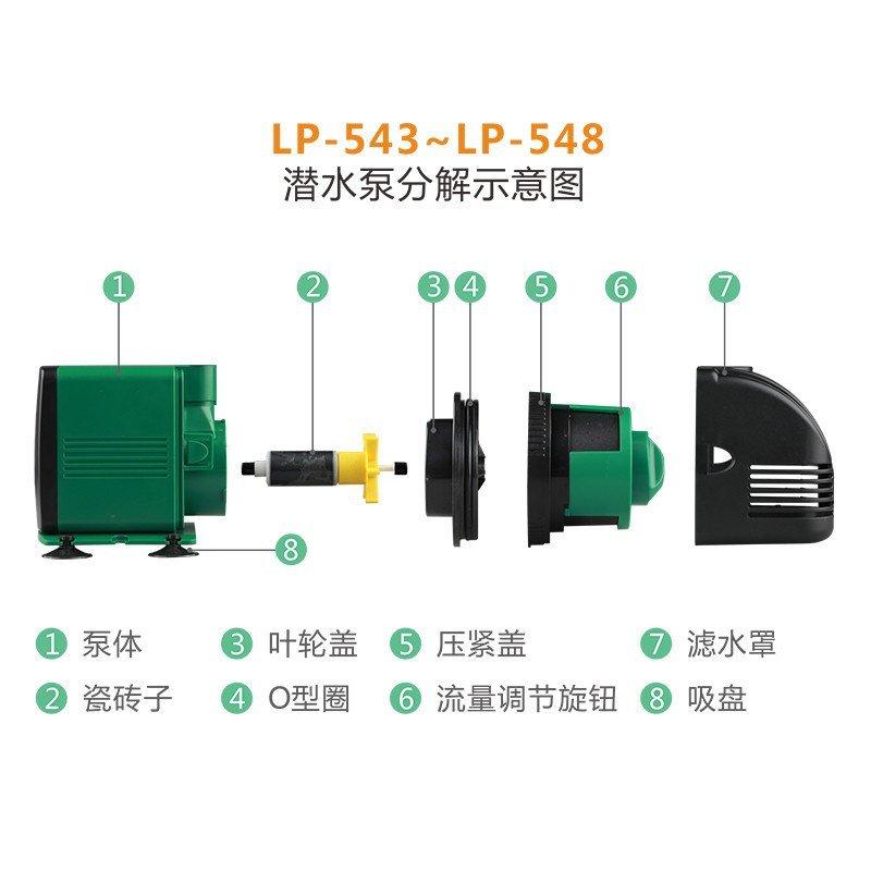 森森 佳璐鱼缸多功能潜水泵家用220v抽水泵超静音过滤