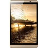 华为(HUAWEI)M2 8英寸 M2-803L-64G-4G 通话版新款正品手机平板电脑(学习办公3G运行内存)香槟金