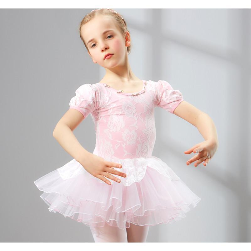 夏季儿童舞蹈服装女童幼儿练功服体操芭蕾舞裙宝宝演出服