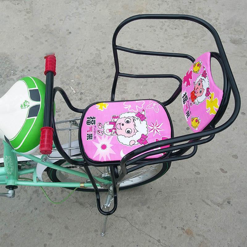 山地车儿童座椅女式自行车婴儿宝宝椅安全座椅后置宝宝椅
