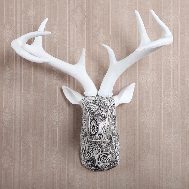 复古欧式创意动物墙壁饰品 时尚墙饰挂饰壁饰摆件挂件