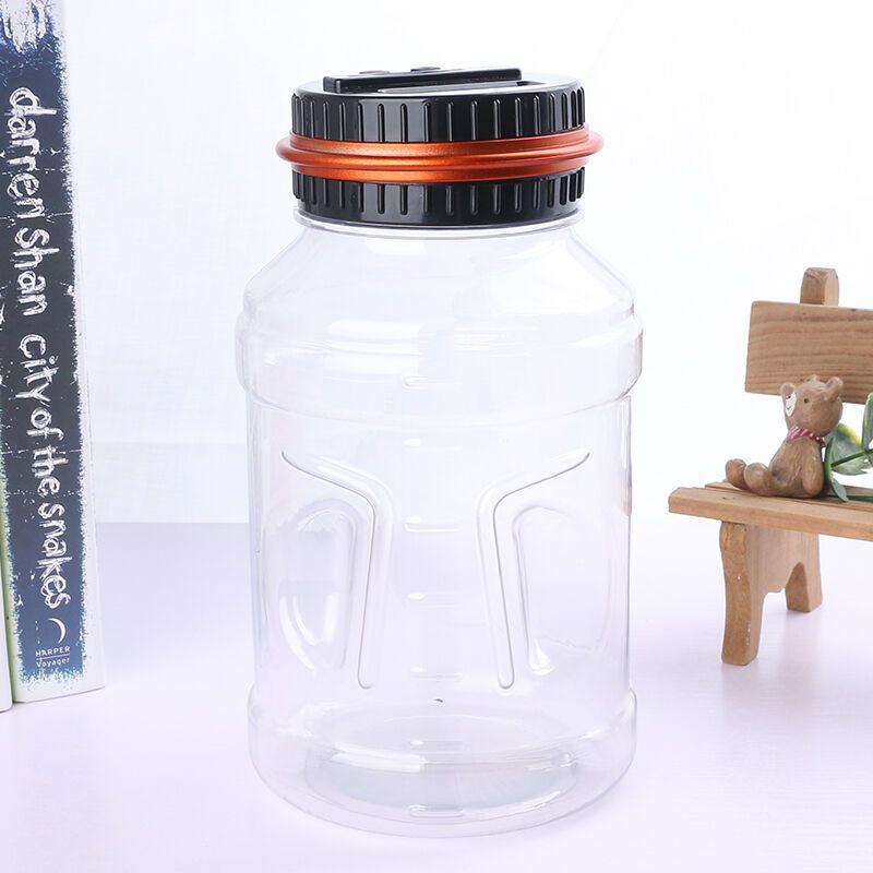 存钱罐儿童大号储钱罐礼物 创意透明储蓄罐大号智能自动计数