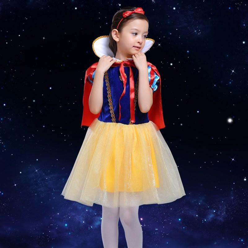 圣诞节儿童公主裙演出服女童化妆舞会角色装扮表演服装