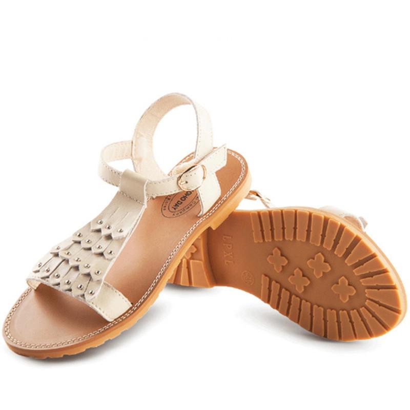 玛哈迪凉鞋 女童鞋凉鞋夏季儿童凉鞋小女孩公主鞋中大