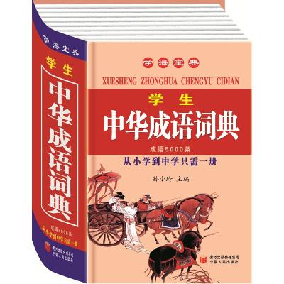 学海宝典 学生中华成语词典 从小学到中学只需一册 新双色版 词条5000...