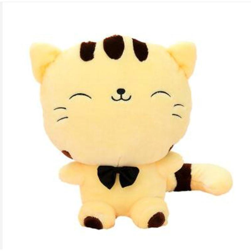 笑萌 大脸猫毛绒玩具抱枕布娃娃可爱猫咪公仔大尾巴玩偶送女朋友生日