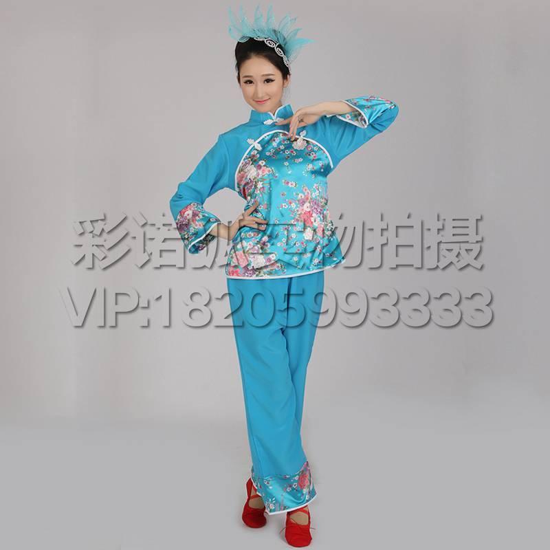 古典舞蹈服新款扇子舞演出服