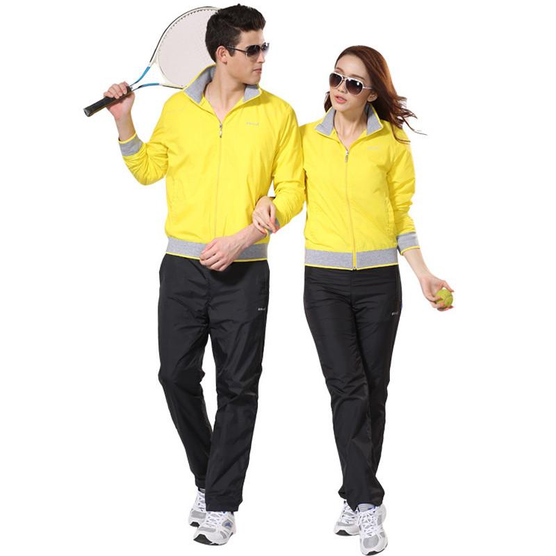 秋季运动服饰情侣款 青少年运动套装男春秋冬季女士运动装 套装户外