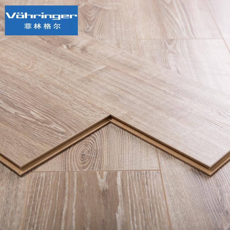 菲林格尔 特价木地板橡木德国高密度纤维板强化复合地板f-321