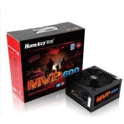 航嘉(Huntkey)额定600W MVP600模组游戏电源