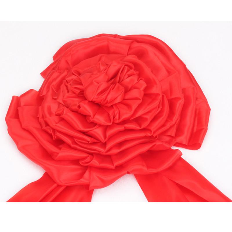 吟秀 婚庆用品 结婚新郎大红花开业庆典花球剪彩装饰