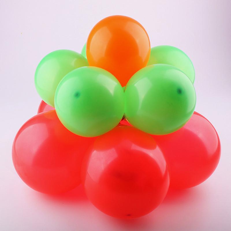 吟秀 婚庆气球造型梅花夹 婚房装饰布置花朵形 双层11