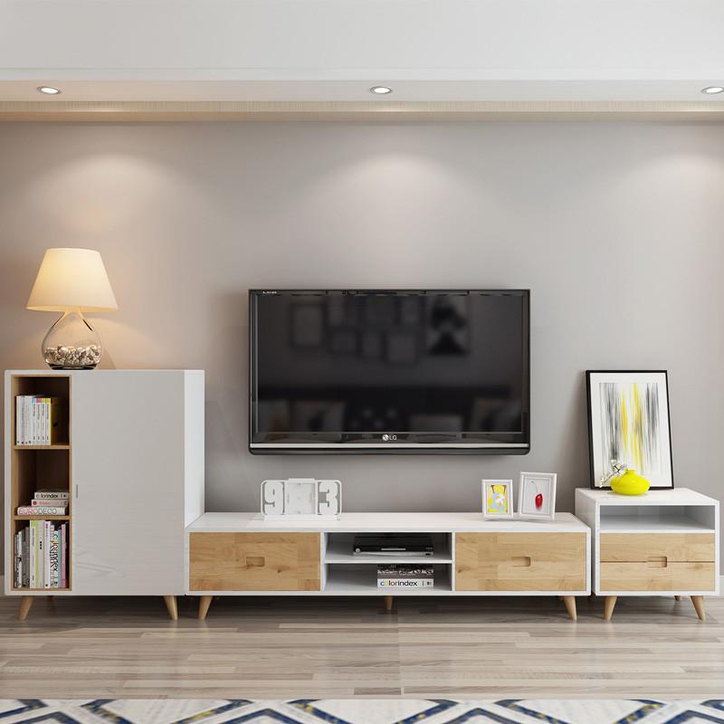 茶几电视柜组合北欧现代小户型客厅