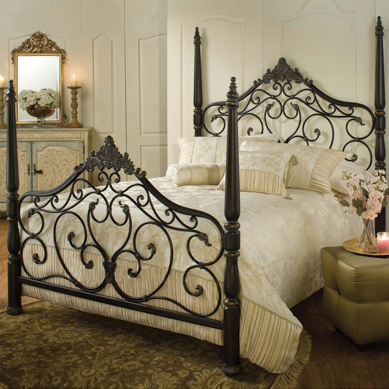 铁艺床 家具套装卧室复古