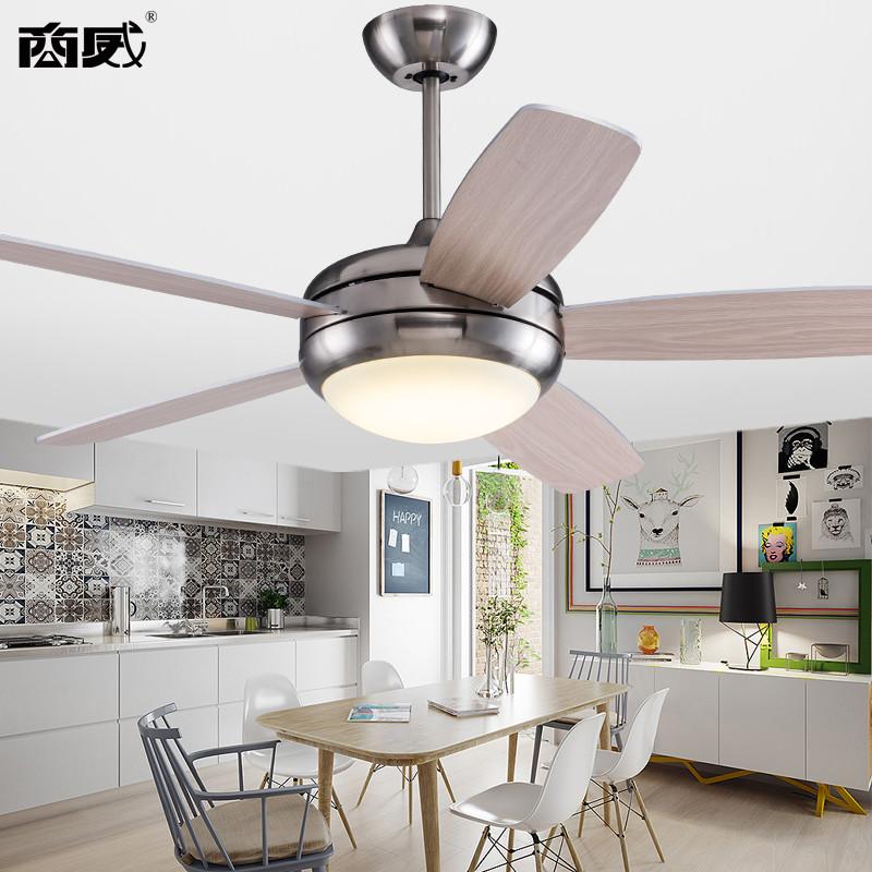 商威风扇灯吊扇灯 美式客厅餐厅卧室风扇灯简约家用电图片