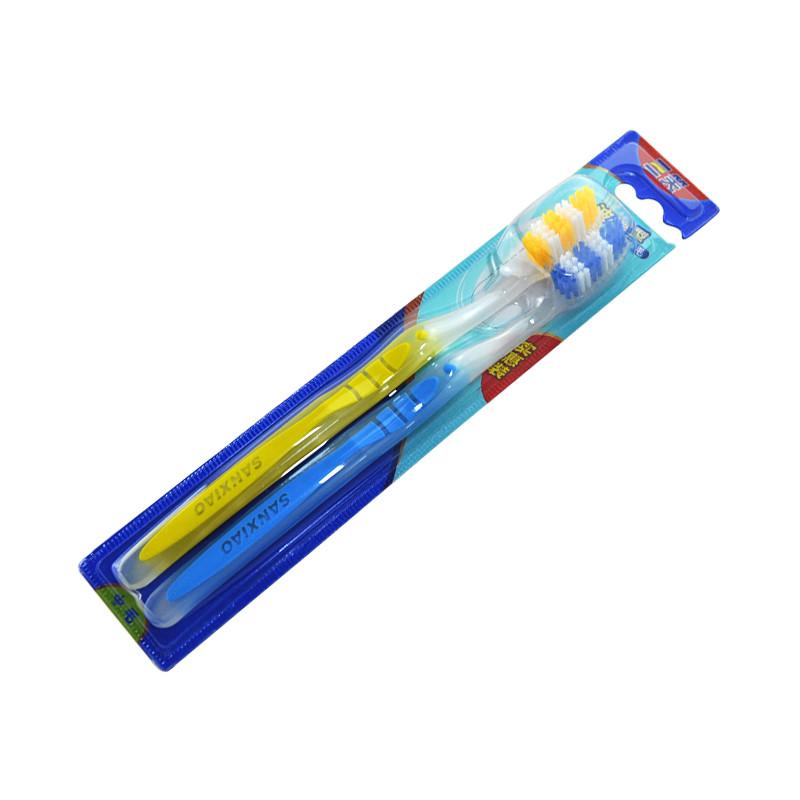 层洁净牙刷三笑植物大战僵尸双支装牙刷-Xylin深层洁净牙刷