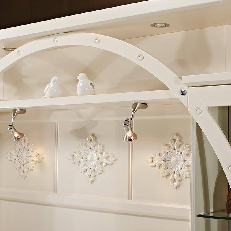 伊莱菲尔 欧式影视墙电视柜组合 背景墙柜 客厅影视地