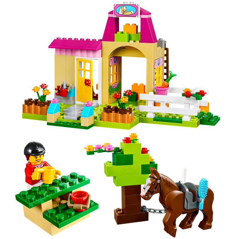 乐高lego拼插积木 创意拼砌系列 小马农场 10674积木玩具4岁