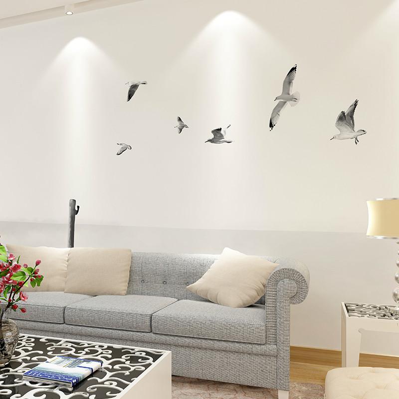 北欧卧室沙发墙壁纸后现代客厅背景墙墙纸 黑白风景墙布图片