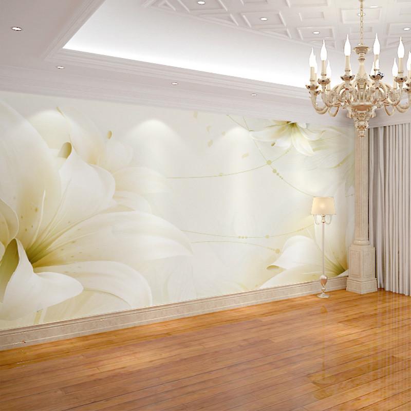 现代简约3d立体客厅电视背景墙纸无缝墙布卧室