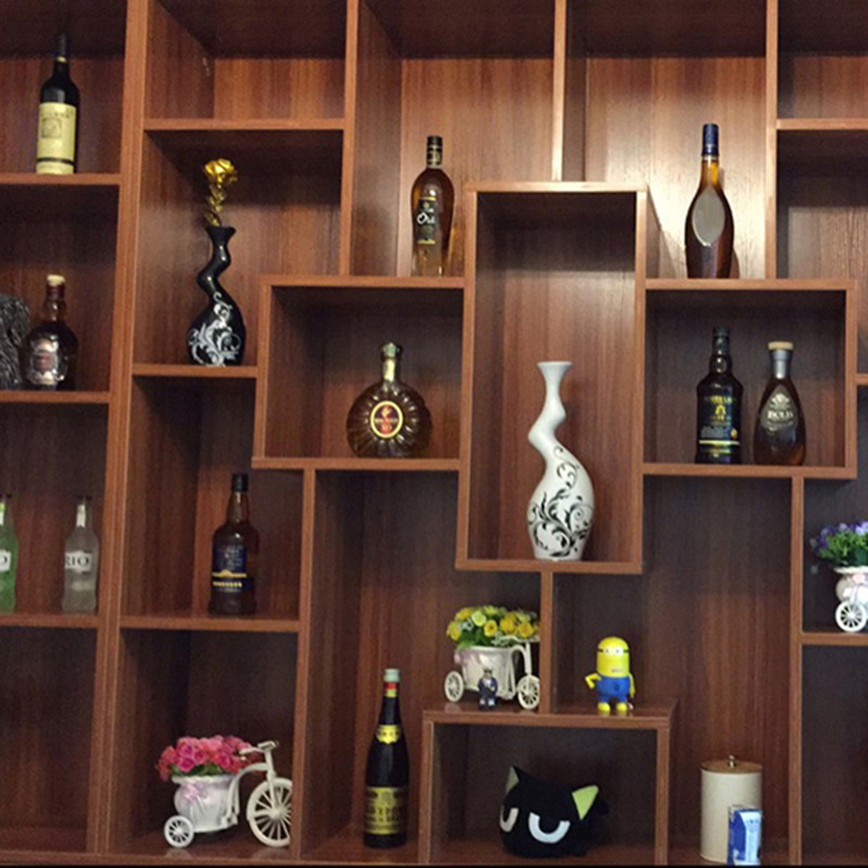 酒柜摆件仿真酒瓶客厅玄关装饰品工艺摆设家居电视柜摆饰-一组三个