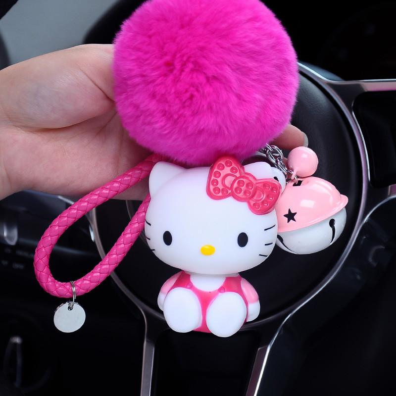 汽车钥匙扣可爱猫卡通猫咪男女款情侣钥匙链钥匙扣包包挂件小礼物