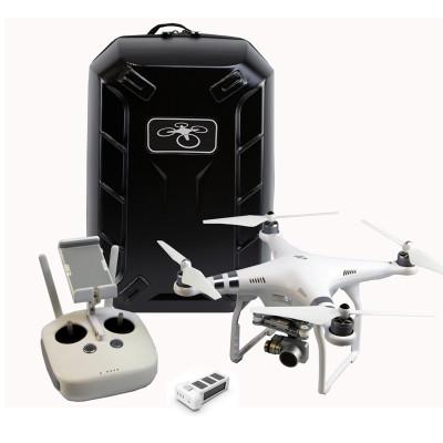 7k相机遥控飞机 精灵3advanced无人机+电池+硬壳背包