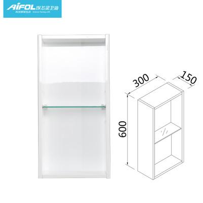 柜组合简欧式橡木白色卫浴柜32008