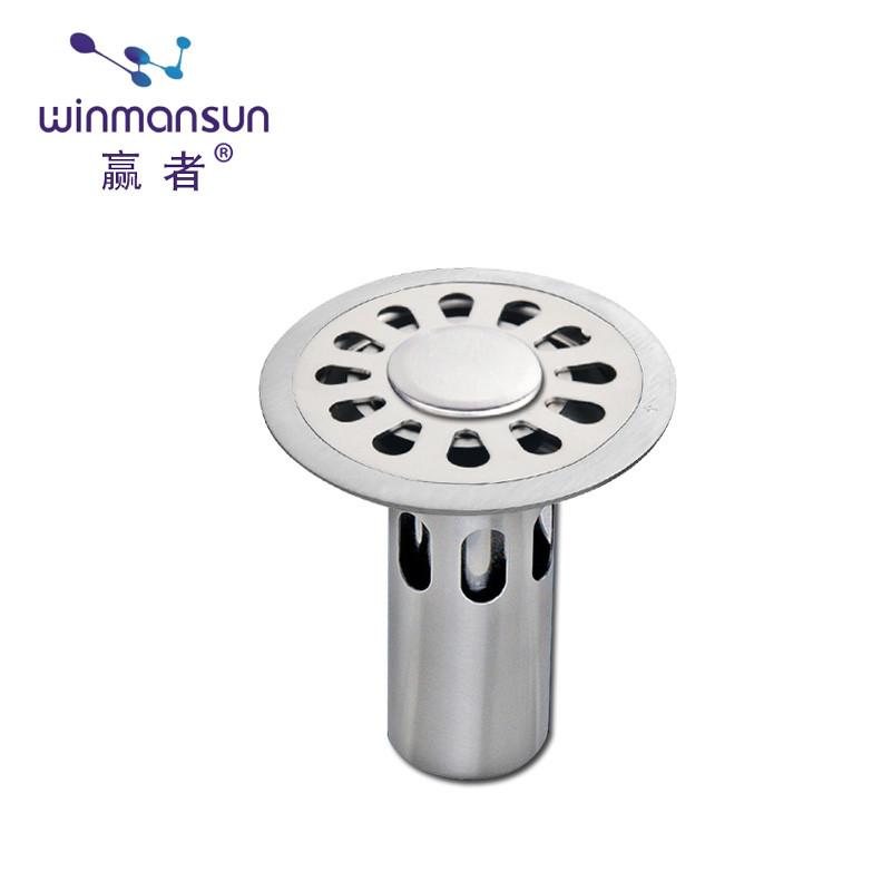 赢者 不锈钢防臭地漏 洗衣机地漏芯 下水道防臭 卫生间浴室 盖片