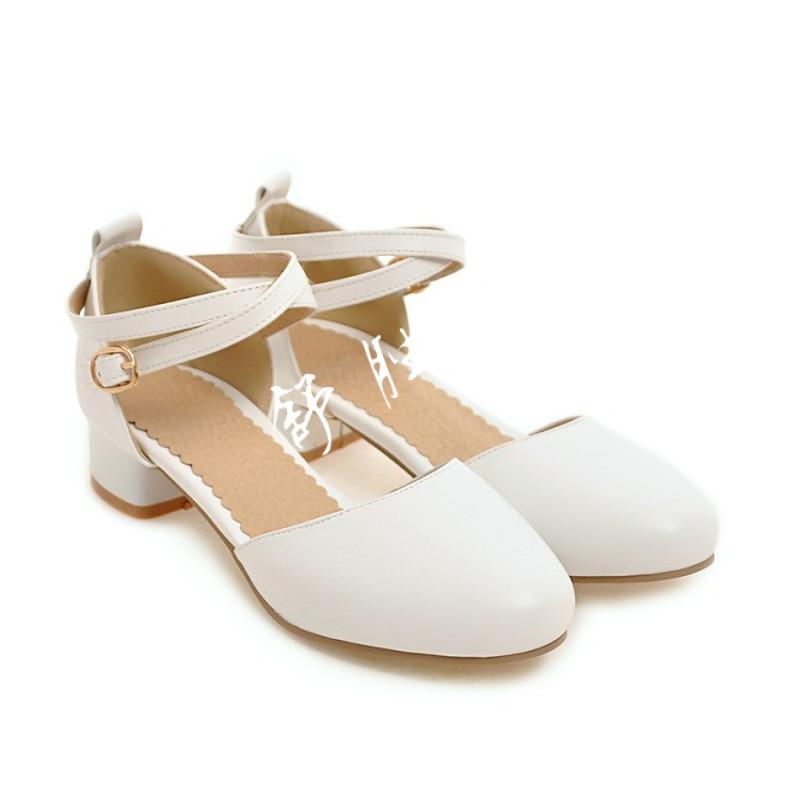 夏季2017新款女童凉鞋小女孩包头公主鞋儿童高跟鞋大童初中学生鞋