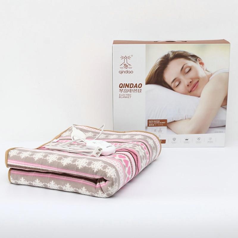琴岛电热毯803129速热单人学生床寝室宿舍电褥子电褥子150*70