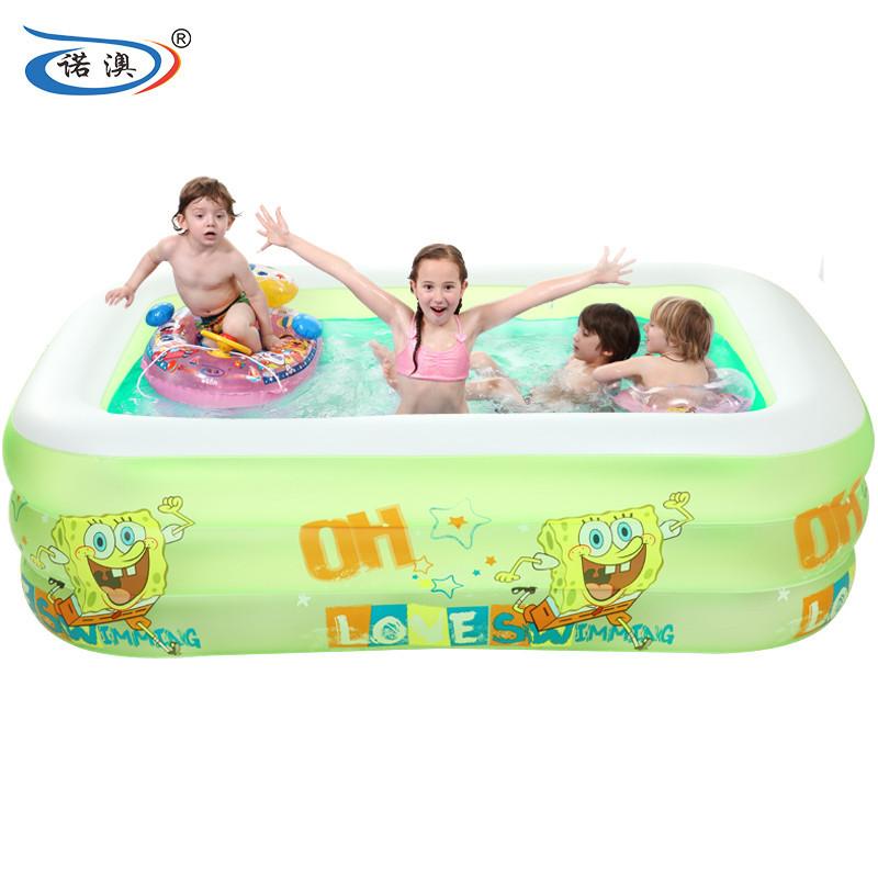池家庭游泳池儿童戏水池小孩海洋球池粉色152*108*51泡泡底豪华套餐