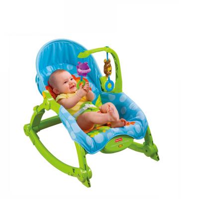 费雪 Fisher Price 婴儿轻便摇椅 11.3kg 宝宝婴幼儿可爱动物多功能睡觉椅