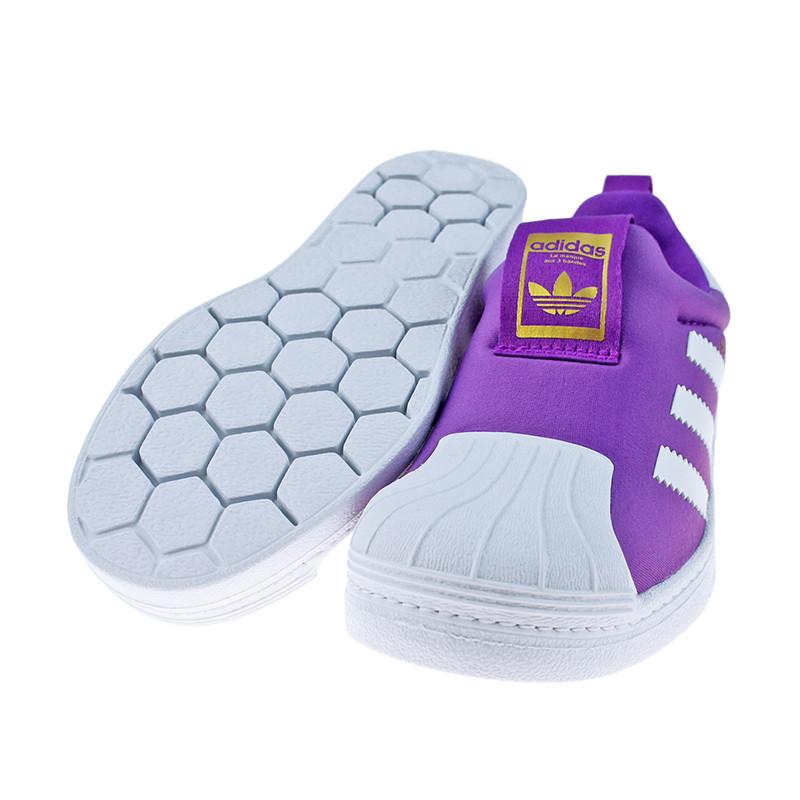 阿迪达斯童鞋男童三叶草休闲鞋婴幼童贝壳头板鞋儿童运动鞋ba8046 ba