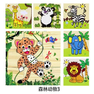木头画 动物