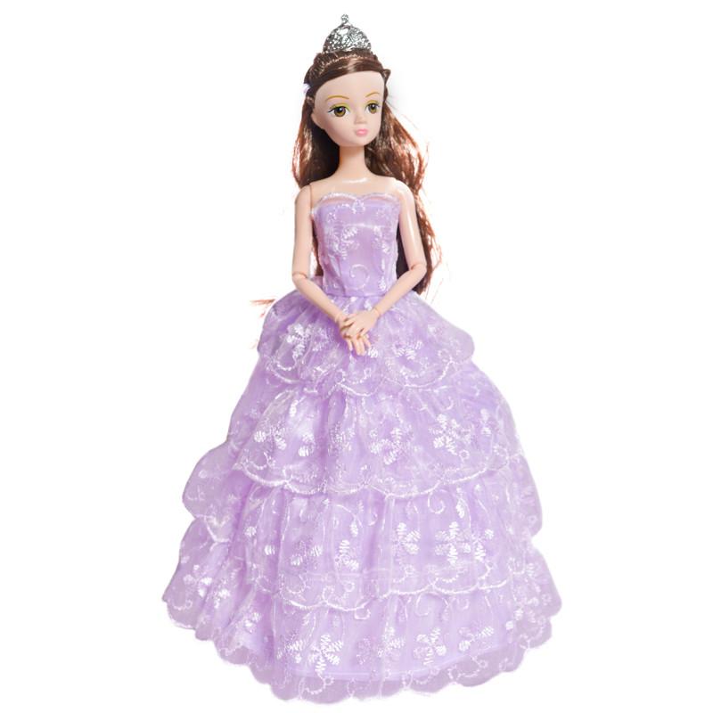 雅丽思 芭比娃娃玩具礼服公主裙洋娃娃女孩玩具