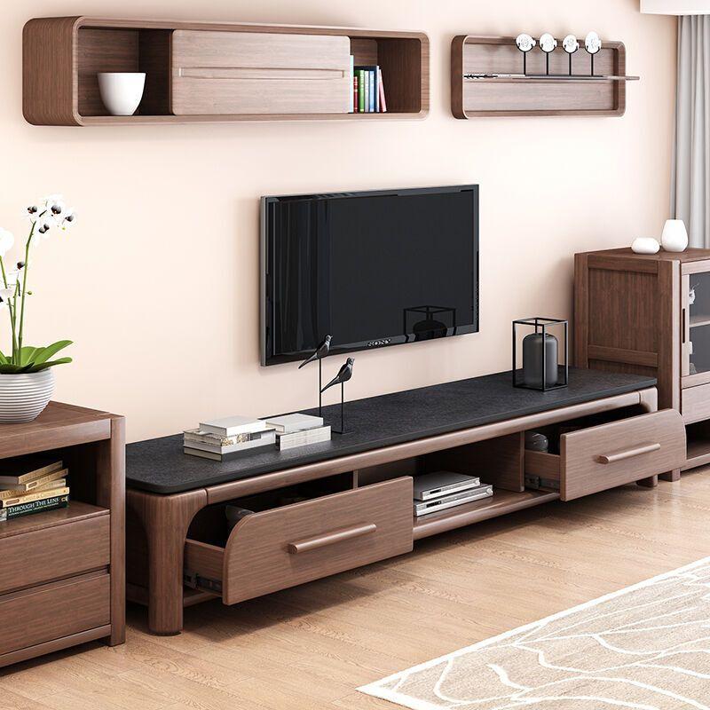 乐私 电视柜 北欧欧式简约电视柜茶几组合美式客厅家具图片