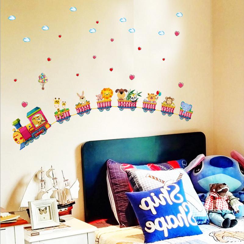 吉朵芸 托马斯小火车创意卡通可爱装饰贴纸儿童房动漫
